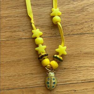 Lady Bug Charm Necklace